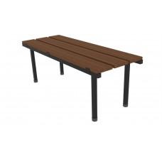 Ausfile® Locker Room Bench Seat 1200L x 460W - ALRBS1200