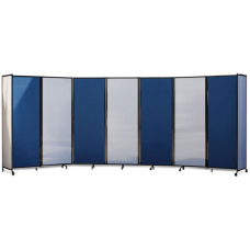 Eclipse® Free Standing Mobile Room Dividers Starter Panel - ECFSMRD