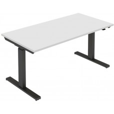 Eclipse® Tranquilo Double Gas Lift Desk 1200 x 600 - ETG1260