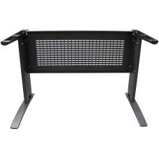 Eclipse Valore Desk Frame 1200~1900 with Modesty Panel - EVFM