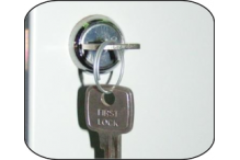 Ausfile Replacement Camlock for Lockers with 2 Keys - LOCKL