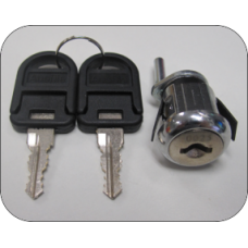 Ausfile® Replacement Camlock for Filing Cabinets with 2 Keys - LOCKFC