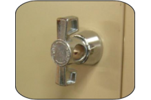 Ausfile Lockers - Replacement Latch Lock - LOCKLL