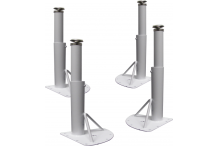 Eclipse Height Adjustable Table MD Legs X 4 - Multi Use - BLIA