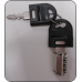 Ausfile® Spare Barrel with 2 Keys - Steel Products - KEYBS