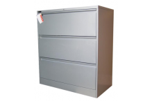 Ausfile Lateral Filing Cabinet - 3 Drawer - ALF3 / MC11B