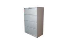 Ausfile Lateral Filing Cabinet - 4 Drawer - ALF4 / MC11C