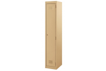 Ausfile Locker 1 Door - 375mm wide Single - AL1D375BK1