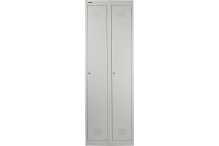 Ausfile Locker 1 Door - 375mm wide Bank of 2 - AL1D375BK2