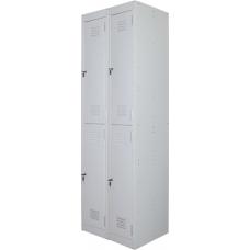 Ausfile® Locker 2 Door - 300mm wide Bank of 2 - AL2D300BK2 / MC5B
