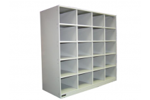 Ausfile Steel Pigeon Hole Unit - 20 Hole - APH20