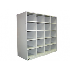 Ausfile® Steel Pigeon Hole Unit - 20 Hole - APH20