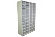 Ausfile Steel Pigeon Hole Unit - 40 Hole - APH40