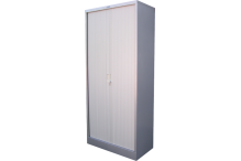 Ausfile Tambour Door Cupboard - Shell Only - 1980h x 900w - AT19809
