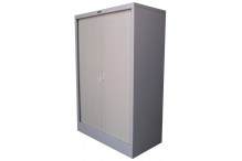 Ausfile Tambour Door Cupboard - Shell Only - 1340h x 900w - AT13409