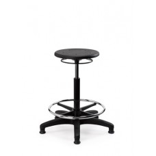 Eclipse® Curie Lab Stool - Round - With Glides - CHLS1