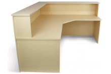 Eclipse® Leah Corner Reception counter - ELEAHCRC