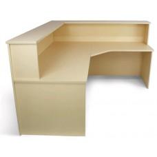Eclipse® Leah Corner Reception Counter - ELCR