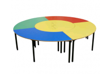 Eclipse® Quadrant Hole Student Table - EDTQUADH