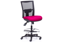 Eclipse® Aragon Air Mesh Drafting Stool - CHAAMDS