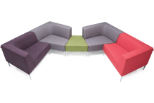 Eclipse® Angolo Modular Seating - ECSFAMS