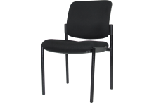 Eclipse® Aragon Medi Visitor Chair - Vinyl - CHAVPUB