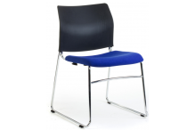 Eclipse® Aragon UNO Visitor Chair - Sled Base - CHUAVSB
