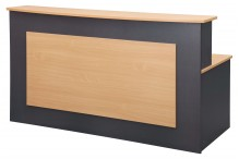 Eclipse® Banksia Reception Desk 2100 x 900 - EBRD2100
