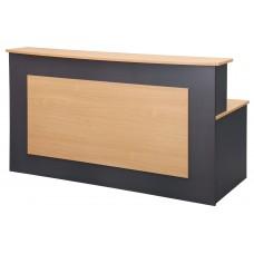 Eclipse® Banksia Reception Desk 2100 x 900 - EBRD2100