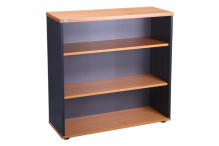 Eclipse® Banksia Bookcase 900 x 900h - 2 Shelves - EBBC900