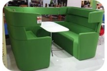 Eclipse Glove Modular Booth Seating - ECSFMBS