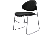 Eclipse Capri Sled Base Visitor Chair - CHCSB