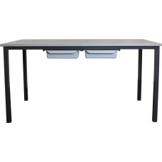 Eclipse® Classroom Desk - 1200L x 600W - with Tray Rails - DET3