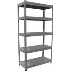 Eclipse® E-Clip Shelving 2000h x 1200w - 5 Shelves - ESHELF1200