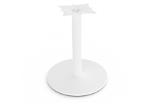 Eclipse Pedestal Base White - 600D - BDB600W