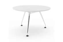 Eclipse Elegance Table - Chrome Legs - 1200D - BME1200