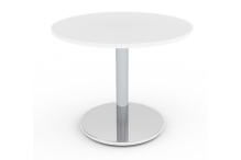 Eclipse Pedestal Table Chrome - 900D - BMD900