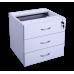 Eclipse® Banksia Fixed Pedestal 3 Pen Drawers - EBFP3P