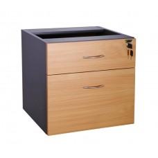 Eclipse® Banksia Fixed Pedestal 1 Pen / 1 File Drawer - EBFP1P1F