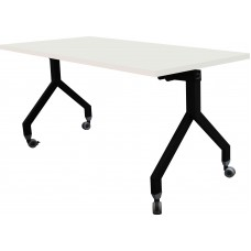 Eclipse® Nero Flip Top Table - 1500 x 715 x 740h - LMTN1500