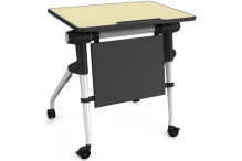 Eclipse Fold and Nest Single Student Desk - ECFNSD
