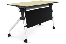 Eclipse Fold and Nest Double Student Desk - ECFNDSD