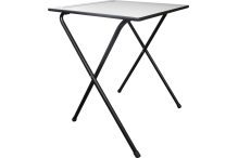 Eclipse Folding Exam Desk- 600 x 600 x 710H - DFET