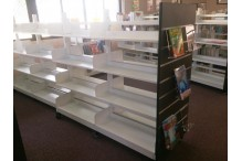 Eclipse® Classic Steel Library Shelving 2 Double Bay / Double Sided Mobile Unit - EDSM16-2BAY