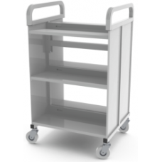 Eclipse® Bay End  Book Trolley - 650 long - LMBT650