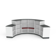 Eclipse Library Shelving - Curved- ELSCD