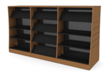 Eclipse Library Shelving - Milano3 - ELSM3