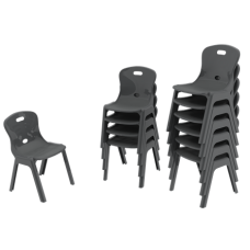 Eclipse® Lynx Poly Chair - 350h - CHLYNX350