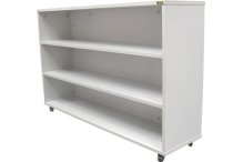 Eclipse® Mobile Bookcase- 2 Central Shelves - DET34