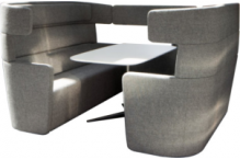 Eclipse Modular Booth Seating - ECSFMBS